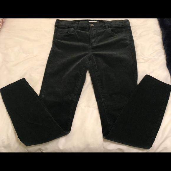 LOFT Pants - Loft winter green corduroy modern skinny pant